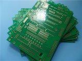 작은 실행 6개의 층 PCB 회로판 검정 Fr 4