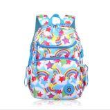 Doppelte Schulter-Beutel-Kursteilnehmer-Freizeit-Drucken-Süßigkeit-Farben-Schultasche