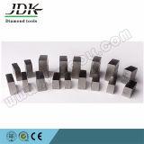 Tipo Grooved segmenti del diamante per il taglio del granito dell'India