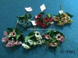 Gerbera artificiale/di plastica/di seta Bush (XF-FD01) del fiore