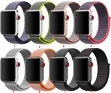 Nuevo correa de reloj de nylon tejida de la llegada Velcro para la venda de reloj de Apple