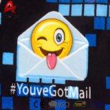 Cobertor popular macio enchido barato relativo à promoção do bebê de Emoji do Emoticon