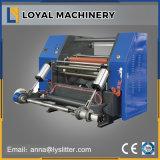 Rebobinamento de alta velocidade automático da fita da espuma do rolo e máquina de corte