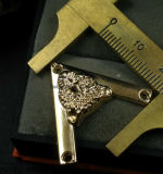 Vestiti di angolo dell'angolo del ferro di punta del collare della tigre del metallo degli accessori di DIY