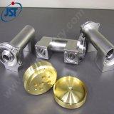 ステンレス鋼が付いている精密CNCの黄銅の機械化弁