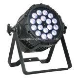Vello LED RGBWA impermeabiliza la luz al aire libre de la IGUALDAD IP65 (LED PSD518 (5in1)