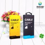 Rectángulos de empaquetado del nuevo del estilo de los accesorios cable móvil del USB para el cable del USB