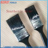 4pcs mango de plástico de pintura limpiar los cepillos de alambre plástico Set
