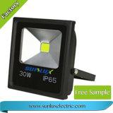 호리호리한 투광램프 20W 30W 50W LED 플러드 빛 (옥수수 속)