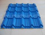 Colorer les feuilles de toiture enduites par couleur ridées par zinc enduit en métal