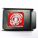 Curvatura de correia militar do metal da alta qualidade para as correias de lona de nylon do Webbing dos meninos do Mens (HSMI0001-006)