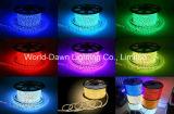 indicatore luminoso della corda di alta luminosità LED di 110V/220V RGB