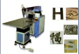 mini máquina de la soldadora de las cartas 3D, del doblez y el soldar del laser para la publicidad del ranurador del CNC