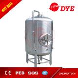 los tanques brillantes de una sola capa de la cerveza 1bbl-200bbl para la venta con la chaqueta de enfriamiento, zona dual vestida, los tanques de almacenaje de la cerveza