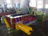 O cobre desfaz-se da máquina de empacotamento hidráulica (a fábrica)