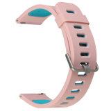 22mm faixa de relógio de Silicone coloridas para engrenagem Samsung S3