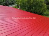En relief la couleur de l'acier tôle de toit tuile de toit ondulé Panneau mural