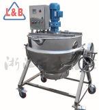 Salsa eléctrica de la carne de vaca de la calefacción que hace la caldera de cocinar de mezcla de inclinación vestida