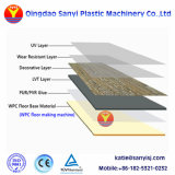 El plástico de la corteza Celuka PVC WPC/piel/placa de espuma/chapa/placa de suelo de la máquina extrusora de WPC