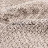 2018 순수한 색깔 소파 피복의 100%년 폴리에스테 간단한 리넨 직물
