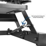[جن-لد02-1] يجلس إرتفاع قابل للتعديل حامل قفص مكتب اعملاليّ حاسوب مكتب