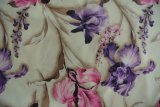Tela de confeção de malhas da flor da cópia conservada em estoque do lote