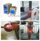 Máquina de calefacción muy rápida de inducción de la velocidad de la calefacción para las piezas de metal que sueldan cubrir con bronce