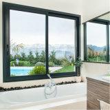 Baumaterialien AluminiumHorizantal schiebendes Fenster mit Niedrigem-e Glas