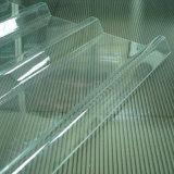 Hoja acanalada sólida durable de la transmisión ligera para el edificio plástico