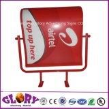 Lightbox fait sur commande annonçant le signe du cadre léger DEL de marque
