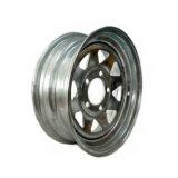 Гальванизированное колесо трейлера шлюпки стальное снабжает ободком 13X4.5