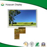 800X480 de 5 pouces haute luminosité Affichage TFT LCD RGB888