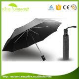 kompakter Regenschirm der Rohseide-190t des Polyester-3 der Kapitel-8ribs