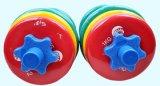 Justierbarer bunter gummierter Dumbbell stellte für Gymnastik-Haus ein