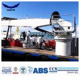 De mariene Kraan van het Dek van het Schip van de Boom van de Motor Hydraulische Rechte