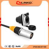 Stecker des Internet-RJ45 Cat5e und Kontaktbuchse-Plastikshell abgeschirmter schnell Verbinder IP65 für Kabel