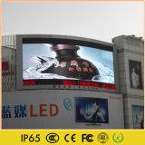 Visualización de LED a todo color al aire libre para la pared video