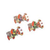 Metallfertigkeit-weiches Decklack-kundenspezifisches Bären-Firmenzeichen-preiswertes Reverspin-Abzeichen