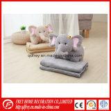Crianças recheadas Elefante Animal brinquedo com cobertor