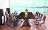 Het modieuze Moderne Bureau van de Conferentie van de Legering van het Aluminium van het Vernisje van de Melamine