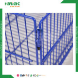 El apilamiento de metal de la jaula de almacenamiento para el supermercado