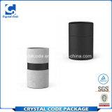 Tubo de papel negro impreso alta calidad para los petróleos