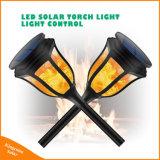 Baile al aire libre Jardín de Luz solar LED de la llama de fuego de la luz de césped de la luz solar