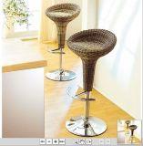 고리 버들 세공 바 의자 또는 바 의자 또는 바 의자 조정