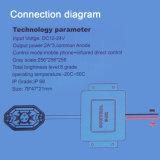 Controlador Bluetooth 4 vainas 8 vainas de neón multicolor RGB LED luces Rock