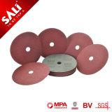 Más duraderas más abrasivos de alta eficiencia de óxido de aluminio disco de fibra