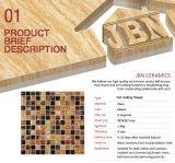 De goedkope Mozaïeken van het Glas van de Prijs Gemeenschappelijke Gebruikte Bruine Gemengde (H420019)