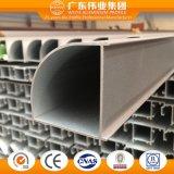 Perfil de aluminio de la venta directa de la fábrica de Foshan para Windows y las puertas