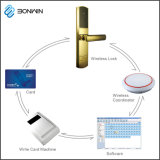 El control remoto inalámbrico del sistema de bloqueo de la puerta de la tarjeta magnética