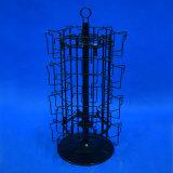 De Vertoning van de Spinner van het Rek van de Kaarten van de Groet van het Metaal van de Draad van het Ijzer van de Bovenkant van de lijst (PHY1010)